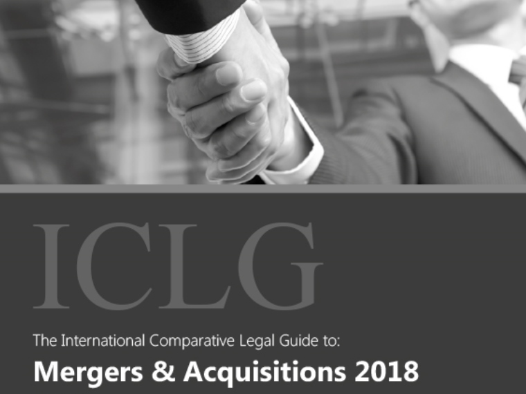 HAVEL & PARTNERS přispěla do mezinárodního sborníku International Comparative Legal Guide to: Mergers & Acquisitions 2018