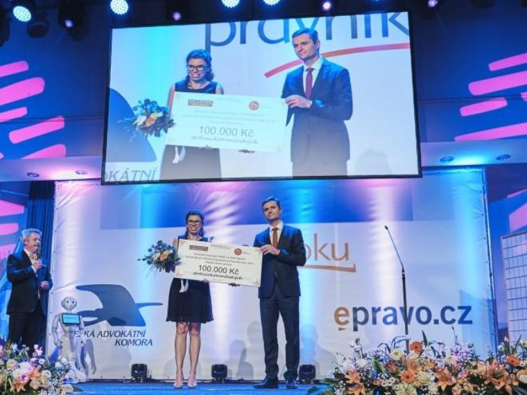 HAVEL & PARTNERS has donated CZK 100,000 to the Krása pomoci Foundation, whose activities it has been supporting since its establishment in 2008