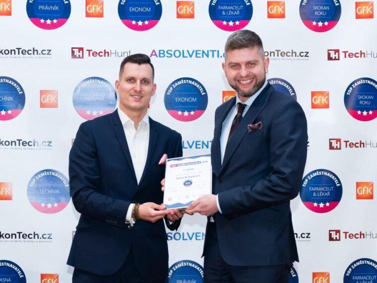 HAVEL & PARTNERS has won the title of the most sought-after employer among the law firms in the Czech Republic for the fifth time