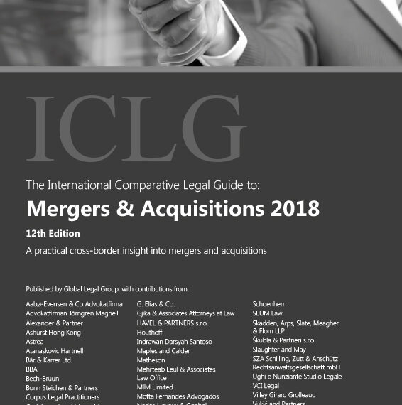 HAVEL & PARTNERS has contributed to the International Comparative Legal Guide to: Mergers & Acquisitions 2018