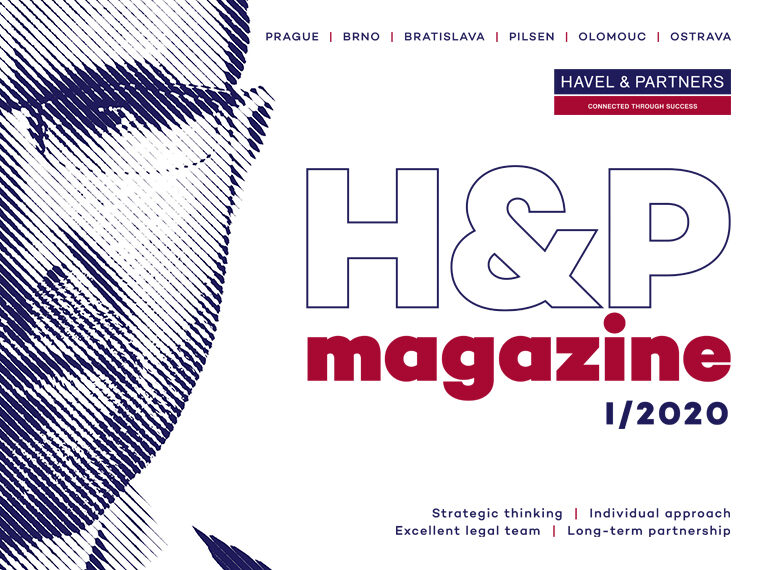 HAVEL & PARTNERS presents the first issue of its new H&P Magazine